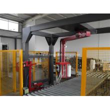 Embaladora automática de alta velocidade para paletes com braço rotativo