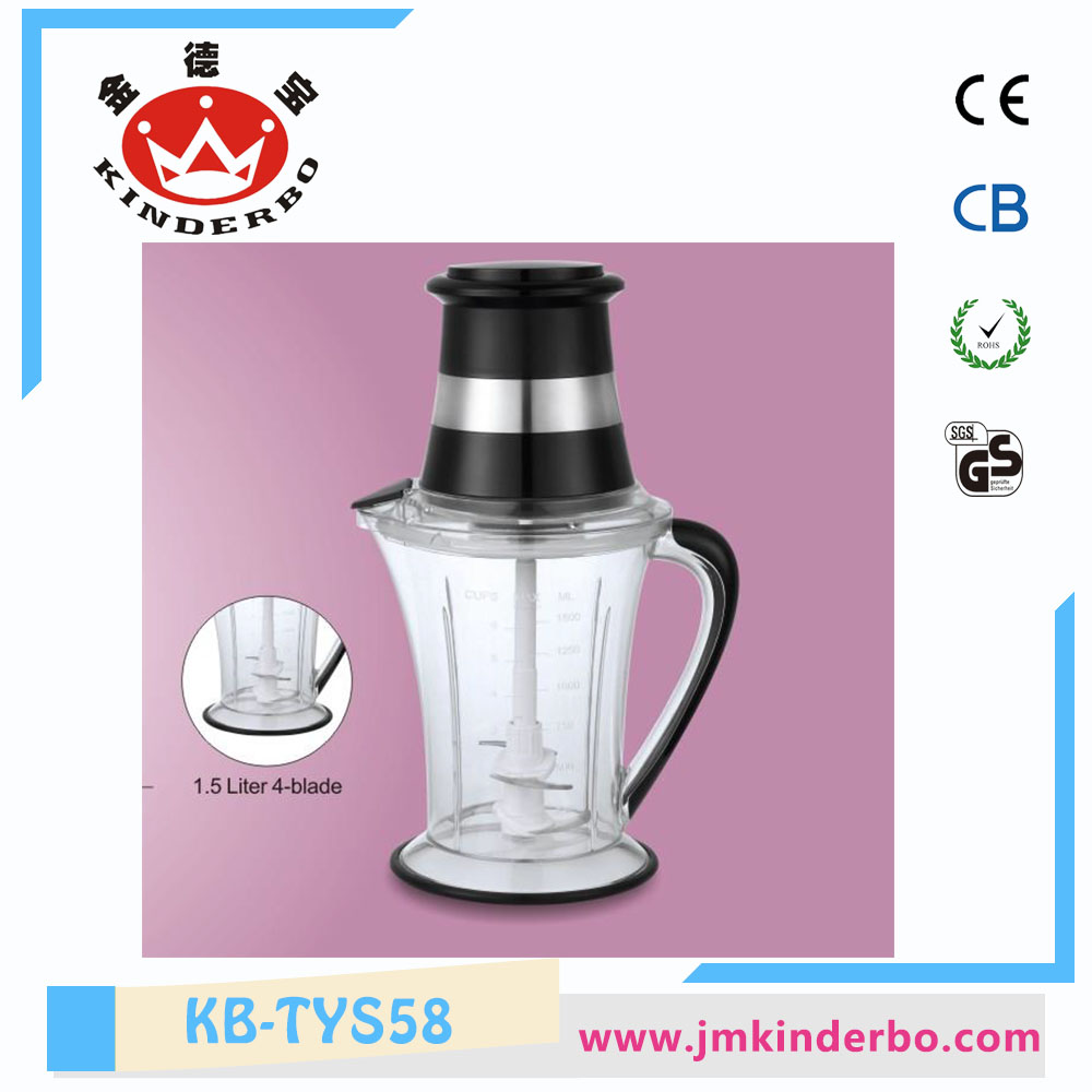 Glass 1.5L or 2.0L Meat Mincer