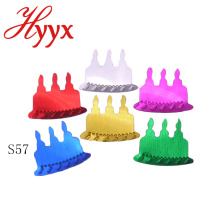HYYX alta qualidade personalizado cor festa de aniversário fornece decorações