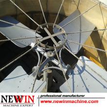 Ventilador de la torre de refrigeración Aleación de aluminio / acero inoxidable / ABS / FRP