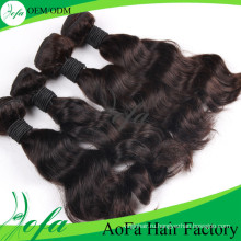 2015 Горячая Распродажа 100% Девственница Волос На Теле Волны Наращивание Волос