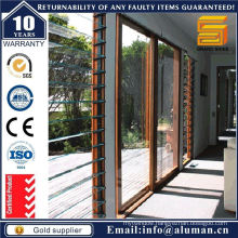 Aluminium Stacker Sliding Door with Mosquito Net