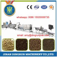 Machine sèche d'extrudeuse de nourriture de poisson de 250kg par heure