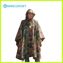100% Polyester/Nylon Waterpfoof Camouflage Poncho