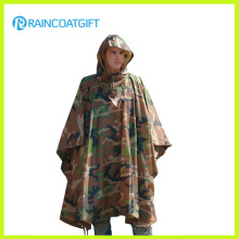 Durable Army Camouflage Regen Poncho Rpy-019