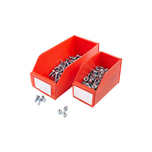 Folding corrugated plastic box