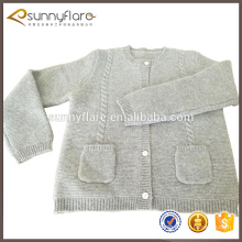 gery cashmere kids cashmere cardigan with pocket