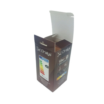 lamp packaging electronics gift  card box