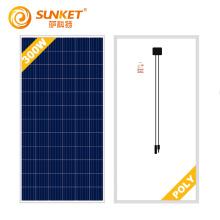 Panneau solaire poly 340W pour système solaire