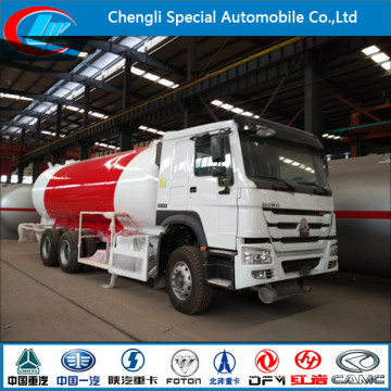HOWO 6*4 336HP 24, 000liters LPG Dispenser Tank Truck for Sale