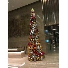 Indoor 5m Giant Christmas Ball Tree