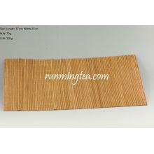 Tapis en bambou brut pour table à thé, 37 * 23cm