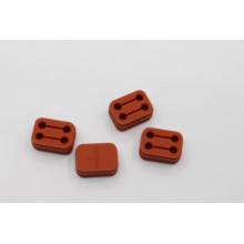 Bloco de amortecedor de borracha de silicone moldado personalizado