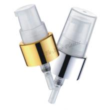 Lotion Pumpe mit Schrauben Aluminium Verschluss für Shampoo Verpackung (WK-27-1A)