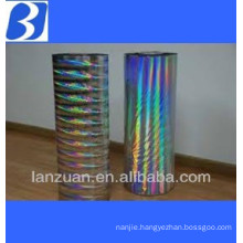 holographic transfer film for cigarettes ,wine,cosmetics
