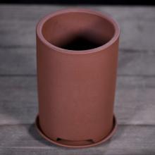 Purple sand flower pot round flowerpot basin