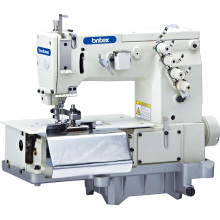 Br-2000c Double Needle Flat -Bed Loop with Front Fabric Cutter (the width of belt loop)