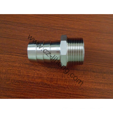 """Stainless Steel 1/8"""" DIN 2999 Hose Nipple From Casting"""