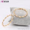 90436-Xuping Hot Sales 18 K Brincos de Argola De Ouro de Jóias de Bronze Com Alta Qualidade