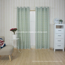 100% Poluester Shrinkage Yarn Jacquard Curtain Fabric in Well Drapes