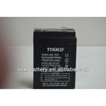 Buena calidad TINKO 6v plomo ácido de la motocicleta