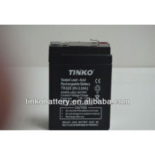 Good quality TINKO 6v lead acid motorcycle battery