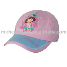 Gorra de béisbol de los niños con impresión hermosa