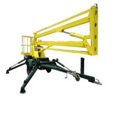 O reboque querido da fábrica montou o elevador rebocador do braço do crescimento da aranha com motor diesel