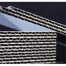Paneles de aluminio corrugado personalizado para revestimiento de pared