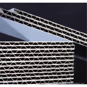 Kundenspezifische gewölbte Aluminiumplatten für Wandverkleidungen