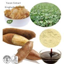 Чистый натуральный экстракт органического Yacon 40% ~ 70% Fos; Экстракт соотношения