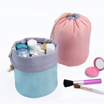 Eco-Friendly Polyester Kordelzug Kosmetik Make-up Tasche
