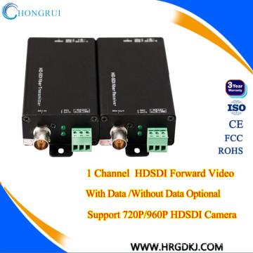Convertisseur hd-sdi Audio + RS485 1/2/4/8 ch Haut pixel sur fibre