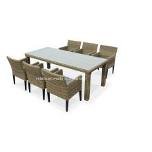 4 Seat Contemporary Rattan Outdoor Garden Furniture Dining Set