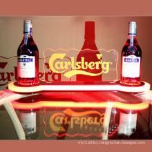 Acrylic Beer Bottle Glorifier Display with LED