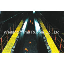 Courroie de transport en acier et résistant au feu pour la mine de charbon