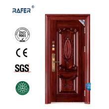 Nuevo diseño de puerta de acero de 9cm / 10cm (RA-S028)