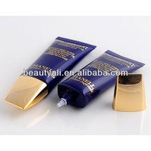 Super Oval cosméticos BB creme tubos com tampa de Plasted