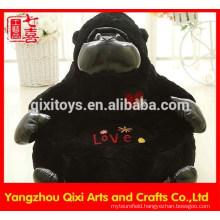 Stuffed gorilla shaped sofa chair plush animal shape chair for kids