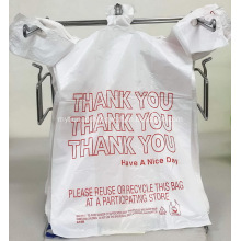 LDPE  T-Shirt Plastic Bag Supermarket Grocery Bags