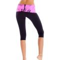Оптовые штаны йоги пригодности, изготовленные на заказ цветастые штаны йоги