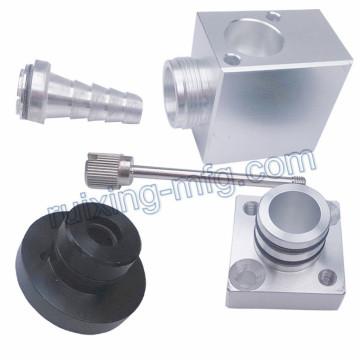 Aluminium Ventil Teile durch CNC-Bearbeitung