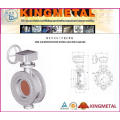 Worm-Gear Operated Eccentric Butterfly Valve