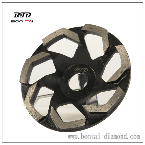 Diamond cup wheel with L Shape Segments for Concrete and Masonry Surface