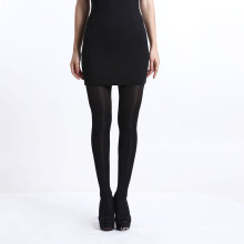 Black mature sexy pantyhose stockings nylon high elastic tights for women