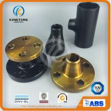 Encaixes de tubulação de aço carbono ASME, DIN, JIS, GOST (KT0306)