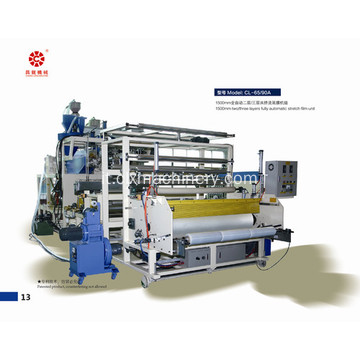 Professionale di fornitura Warrping Stretch Film PE macchine