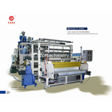 1500mm Co-Extrusion Stretch Film Plastic Wrapping Equipment