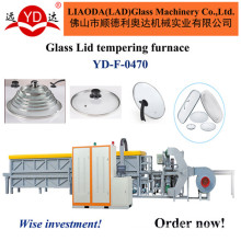 Continuously Pot Cover Tempering Production Line Glass Machinery