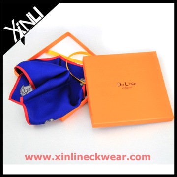 Customized Paper Square Package Gift Box for Scarf